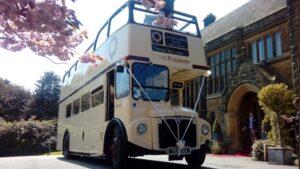 Double Decker Wedding Bus