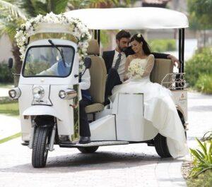 Tuk Tuk Wedding Car