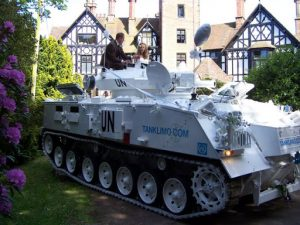 Wedding Tank - Tank Limo