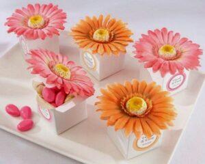 Gerber Daisy Favors + Centerpieces